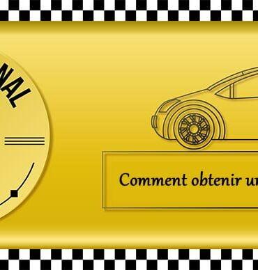 obtenir licence taxi