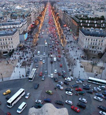 taxi à paris