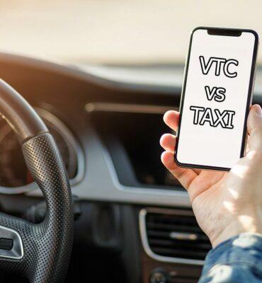 différence taxi et vtc